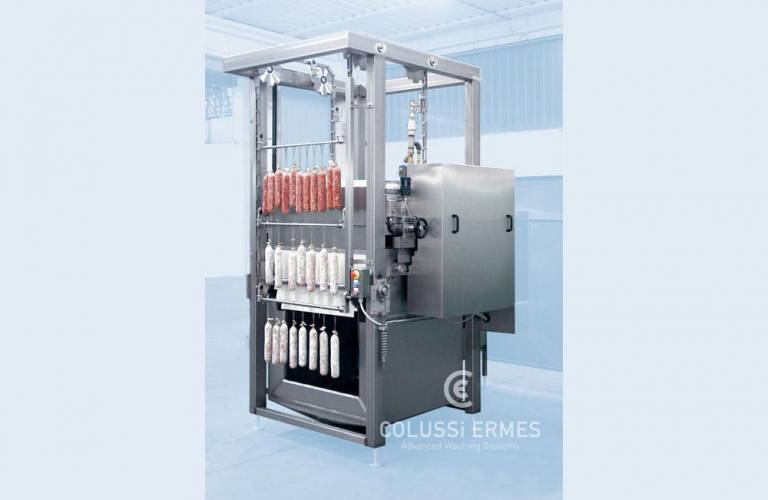 Flour-coating machines