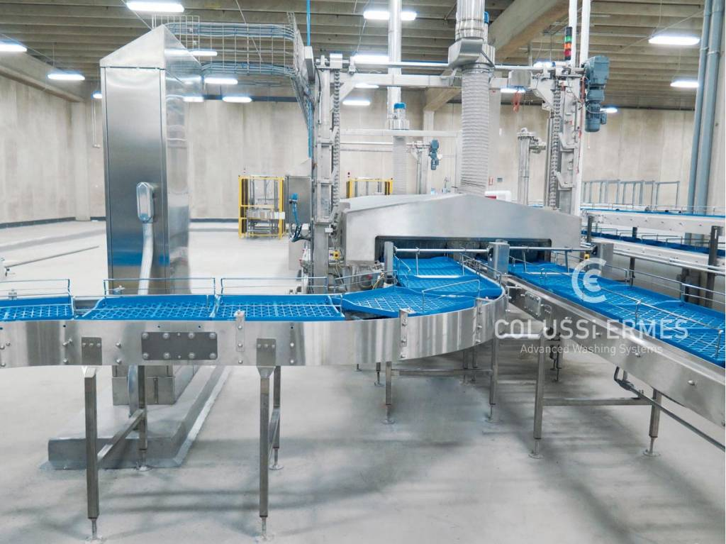 Crate washers Colussi Ermes
