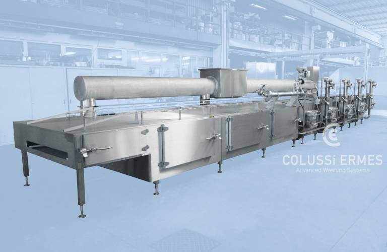 Conveyor belt and filter washers