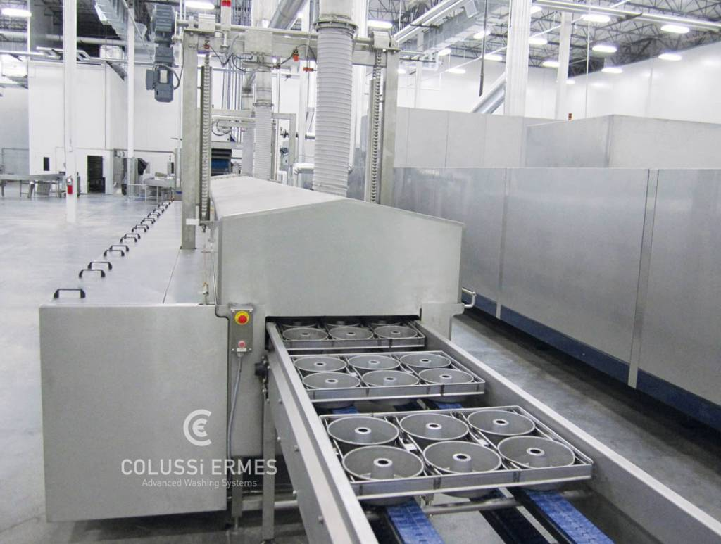 Pan washers Colussi Ermes