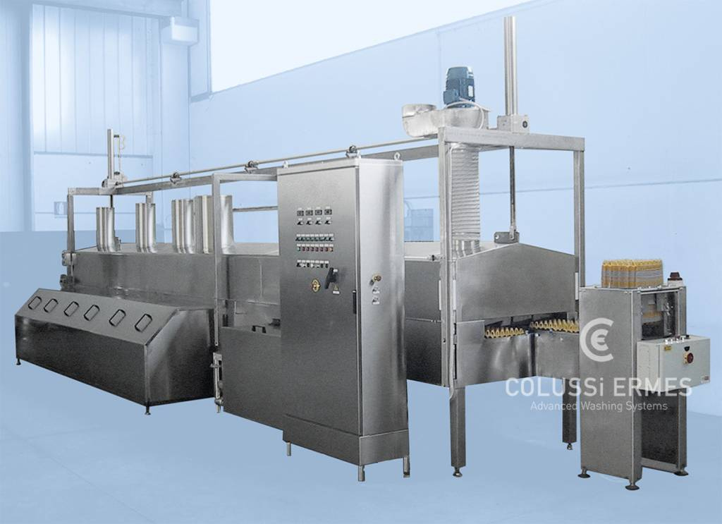 Egg tray washers Colussi Ermes