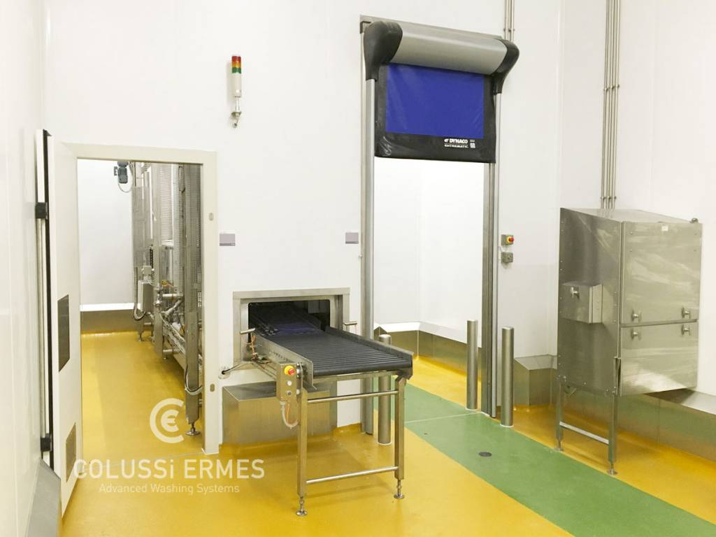 Salumi sanitizing machines Colussi Ermes
