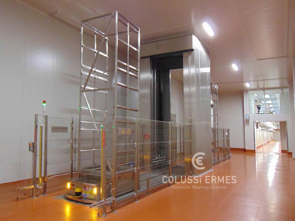 Rack washers - 25 - Colussi Ermes