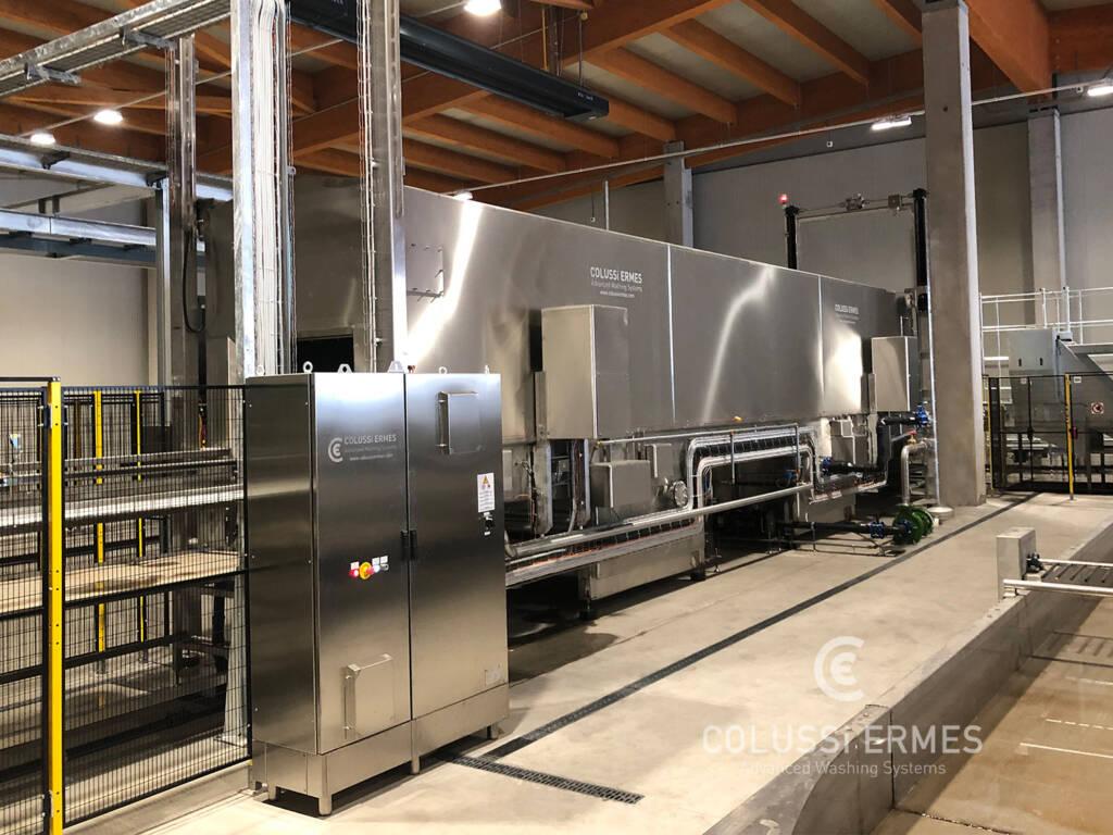 Bin and vat washers - 22 - Colussi Ermes