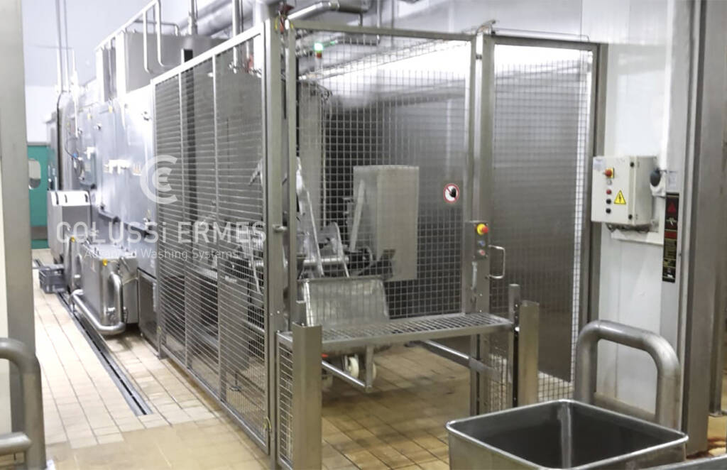 Meat truck washers - 12 - Colussi Ermes