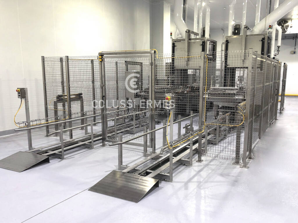 Meat truck washers - 14 - Colussi Ermes