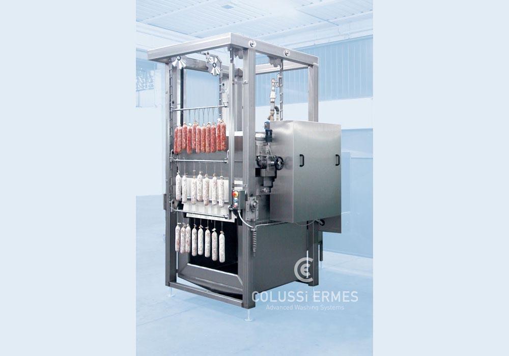 Flour-coating machines
