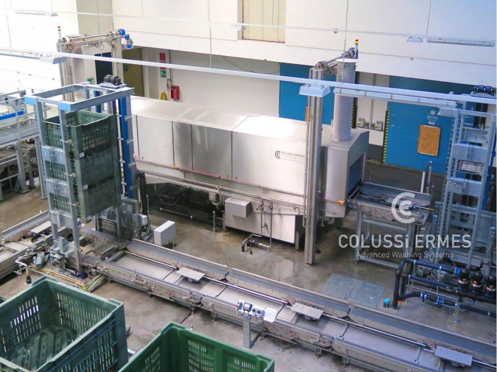 Bin and vat washers Colussi Ermes