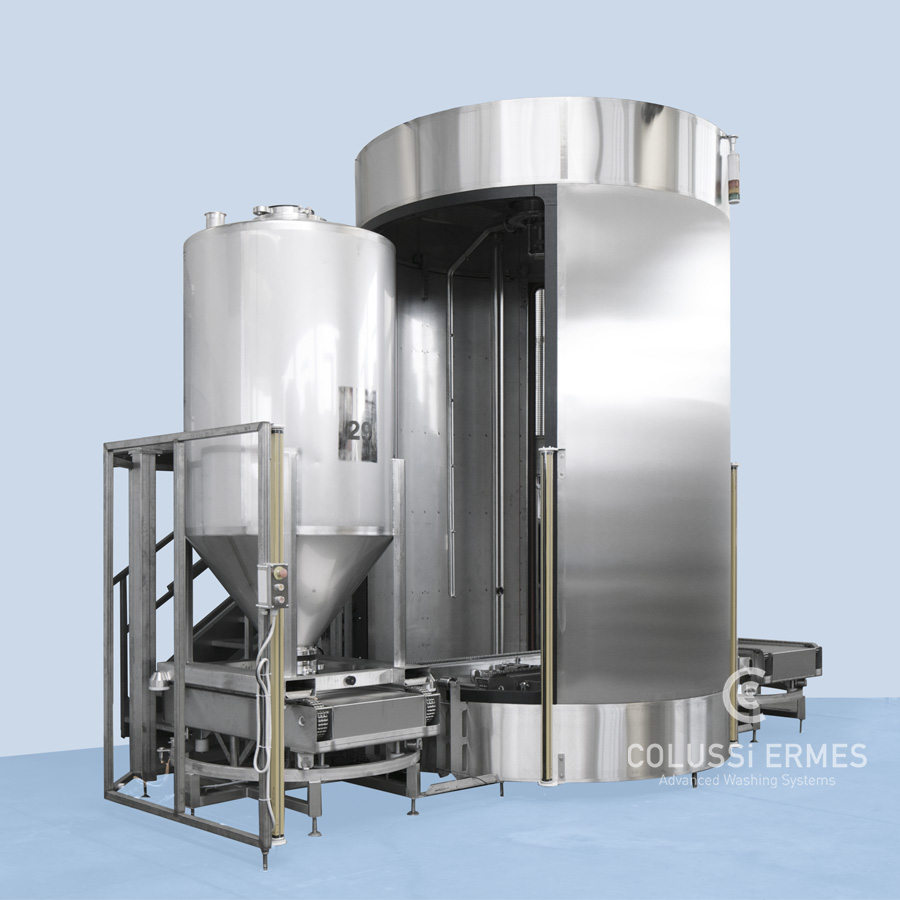 IBC tank washers - 1 - Colussi Ermes