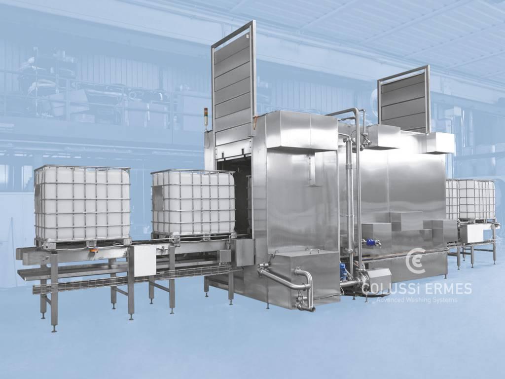 IBC tank washers - 2 - Colussi Ermes