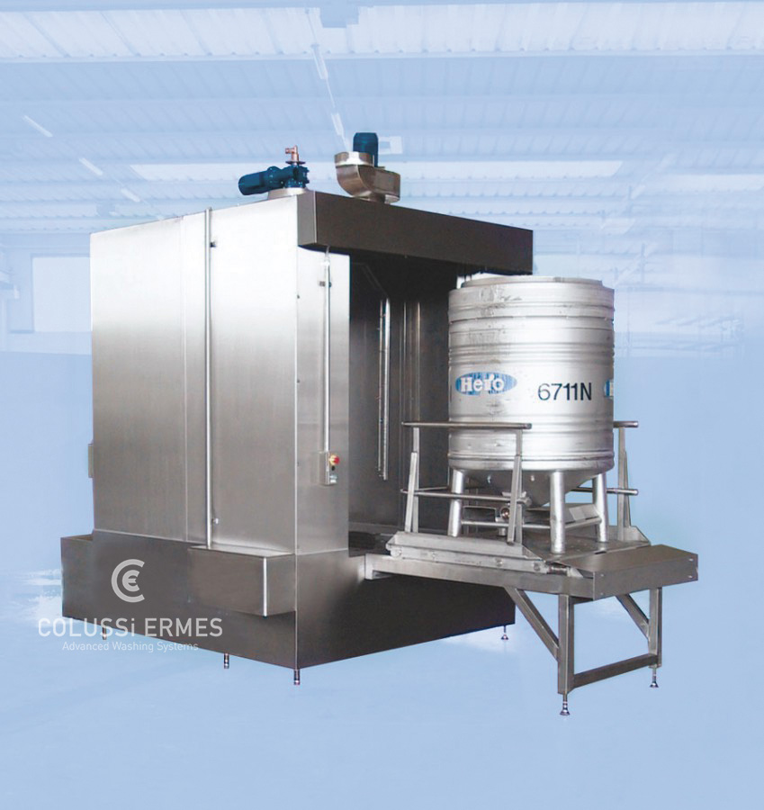 IBC tank washers - 5 - Colussi Ermes
