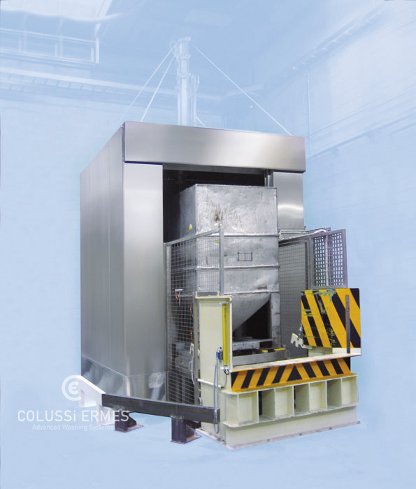 IBC tank washers - 6 - Colussi Ermes