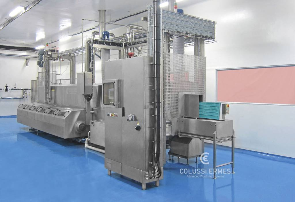 Chocolate mould washers