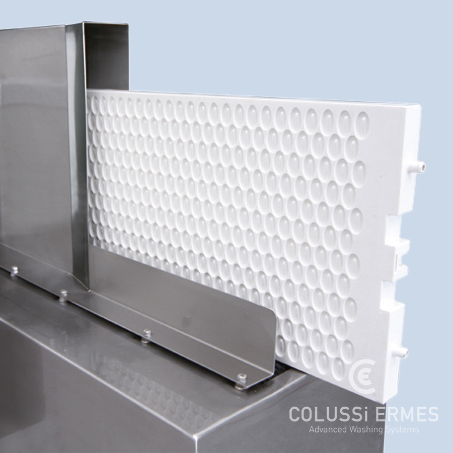Chocolate mould washers Colussi Ermes