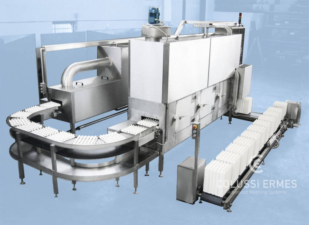 Egg tray washers - 2 - Colussi Ermes