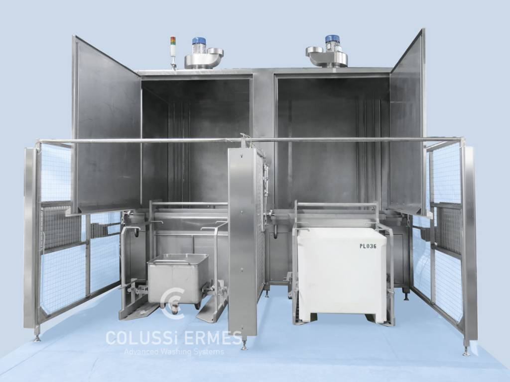 Meat truck washers - 7 - Colussi Ermes