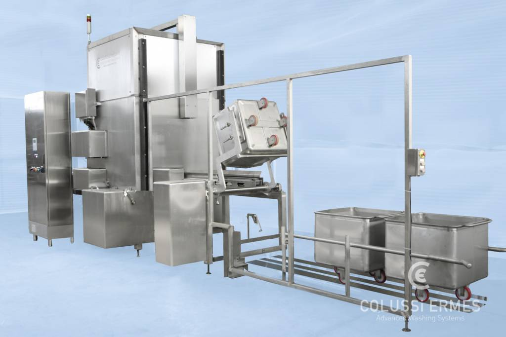 Meat truck washers - 9 - Colussi Ermes