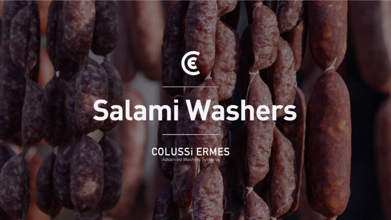 Tailor-made salumi washing-blowingsystems to preserve the product and maintain its qualities.